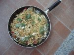 Nouilles frites indiennes - Indian Mee Goreng