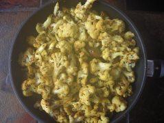 Choux fleurs aux graines de moutarde - Cauliflower with Mustard