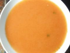 Soupe aux tomates et cilantro -Tomato Soup with Coriander