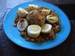 Curry kofta à l'agneau – Nargisi kofta