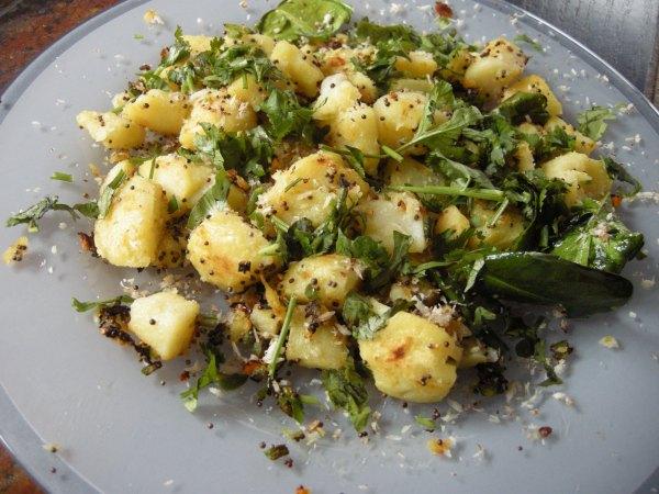 Pommes de terre frites aux épices - Spiced Potatoes