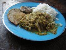 Agneau dans une sauce verte - Aachar Gosht (Bhopal)