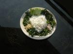 Salade de riz aux fines herbes - nasi ulam